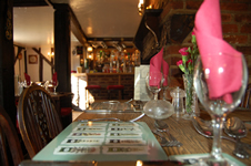 Table View at The Hurdlemakers Arms Restaurant